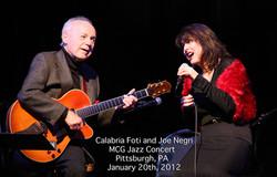 Performing with Joe Negri @MCG-Jazz