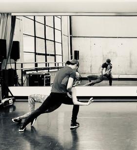 Ellipsis Fantastique Rehearsal, Sissy Bell and Jordan Weagraff