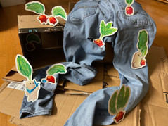 The Radish Family Finds Some Pants