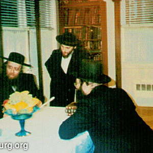 "The Rebbe with Gedolei Yisrael Zt""l"