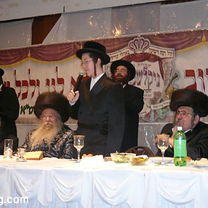 Bar Mitzvah of Rebbes Grandson