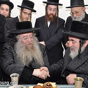 The Rebbes short visit to Eretz Yisrael