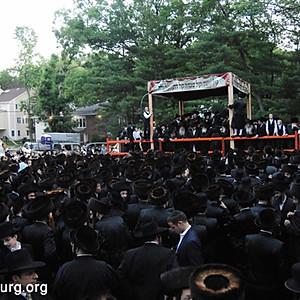 Nikolsburg and Toldos Avrom Yitzchok Wedding
