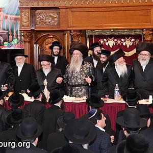 Tenoim of the Rebbes son Harav Chaim Dovid