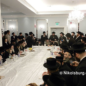Engagement of the Rebbes Son Harav Chaim Dovid