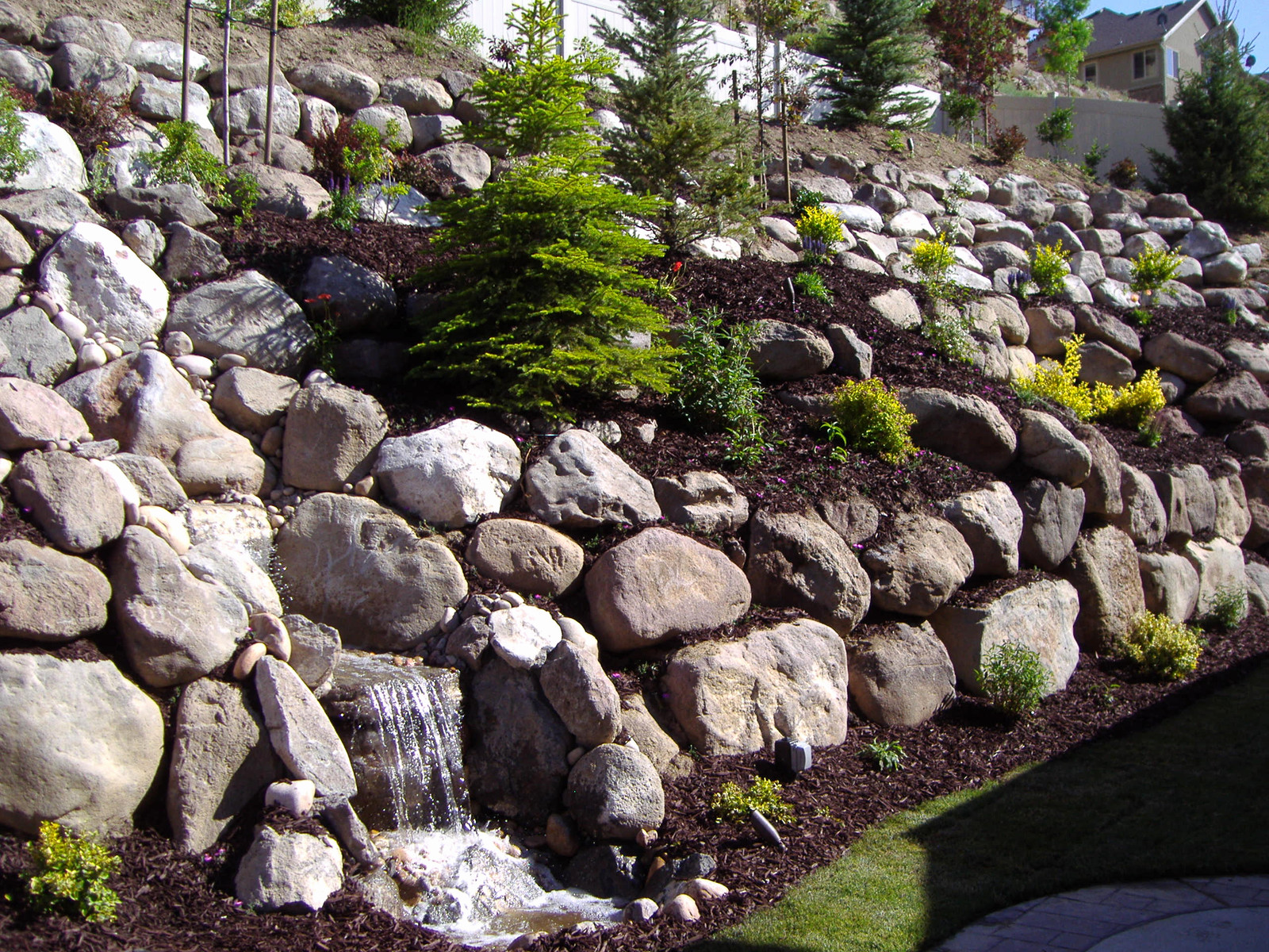 Retaining Wall Landscapers Utah Rock Wall And Retaining Wall