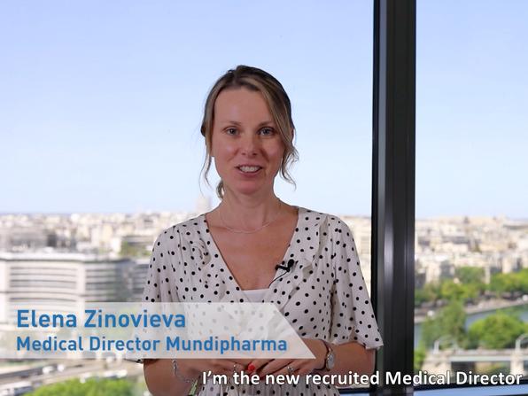 Mundipharma, Laboratoire pharmacutique : Elena Zinovieva