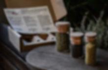 Calabrian Box, Wild Oregano, Fennel Pollen, Black Anise seeds
