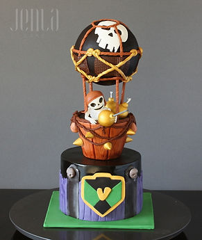 Clash of Clans Balloon birthday cake for the gamer in your life