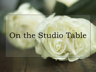 On the Studio Table