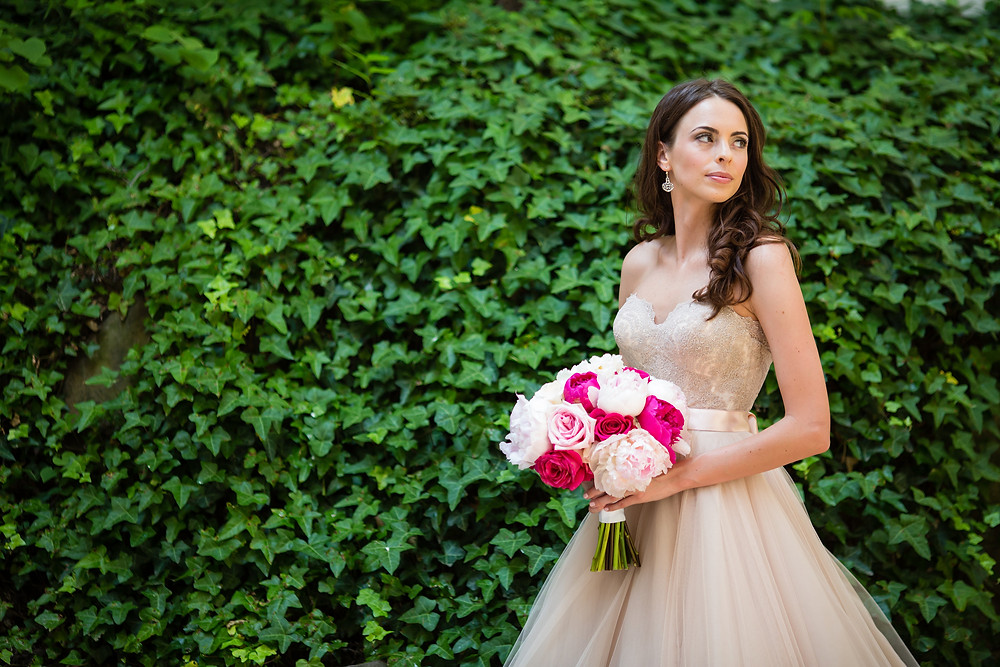 Blush and Pink Bridal Bouquet