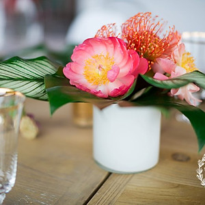 Tropical Engagement Party