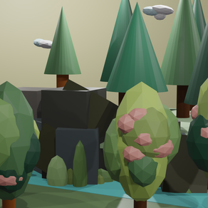 Low-poly Outdoors in Blender