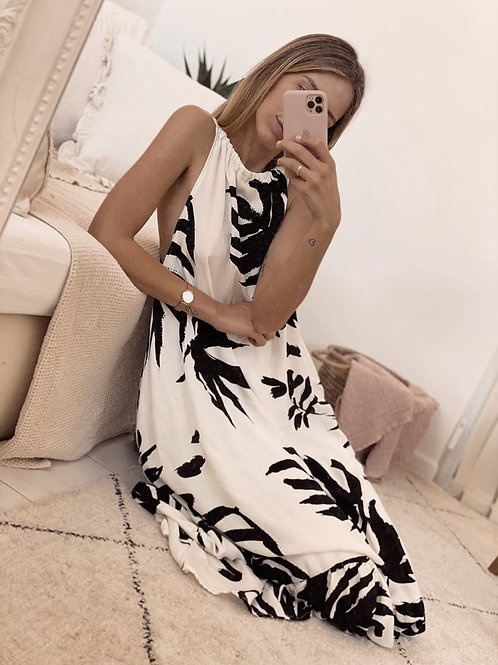 Flora Dress / White