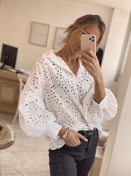 Camisa Juliana / White