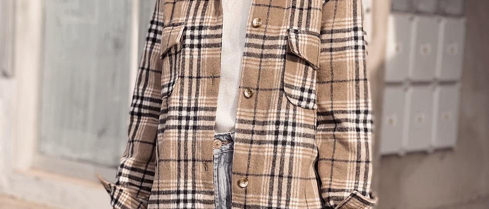 Draco Jacket / Escoces Beige