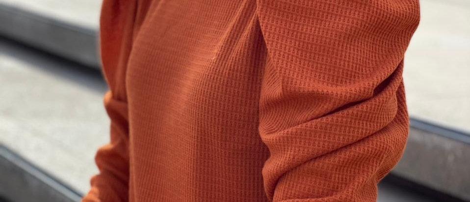 New Sweater Anne / Terracota