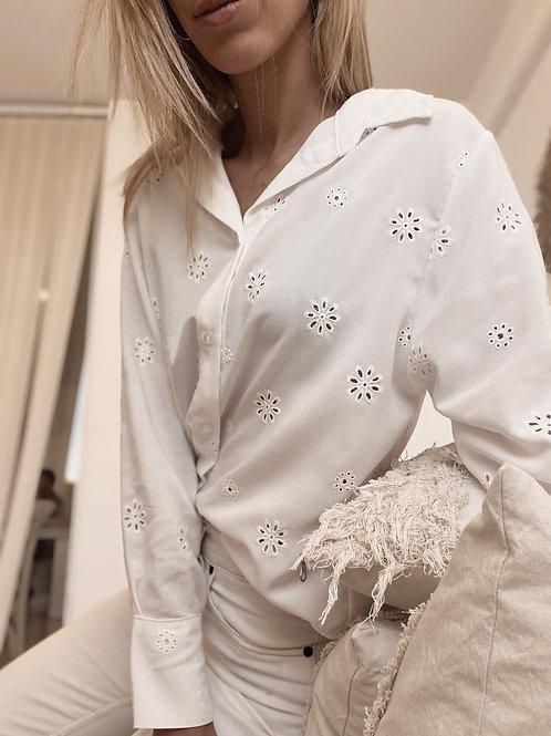 Camisa Bruselas / White