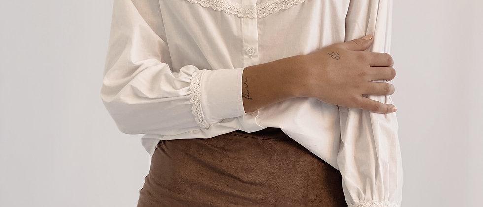 Camisa Maria / Off white