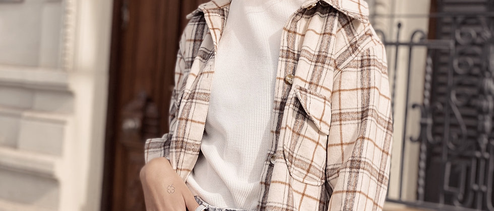 Draco Jacket / Escoces Off White