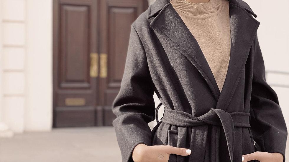 Elise Coat / Black