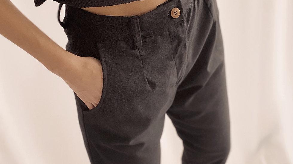 New Santorini Pants / Black
