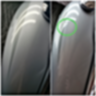 Harley Davidson Gas Tank Paintless Dent Repair