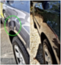 Toyota Front Fender Paintless Dent Repair