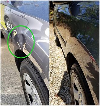 Toyota Front Fender Paintless Dent Repair