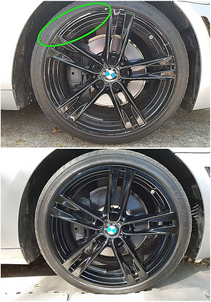 BMW Wheel Resurfacing