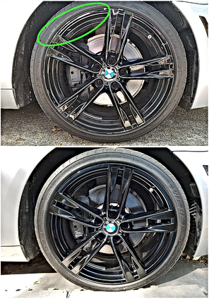 BMW Wheel Resurfacing