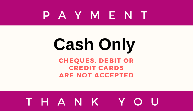Cash Payment Only_ONOS_Massage Menu Page
