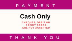 Cash Payment Only_ONOS_Massage Menu Page
