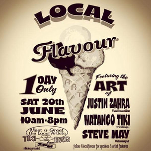 Local Flavour Art Exhibition at Kustom Lane Gallery