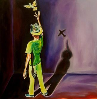 I wish I could fly away