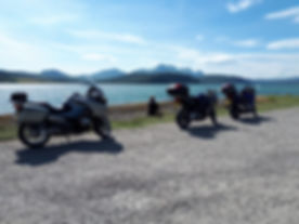 Motorbike touring in the UK