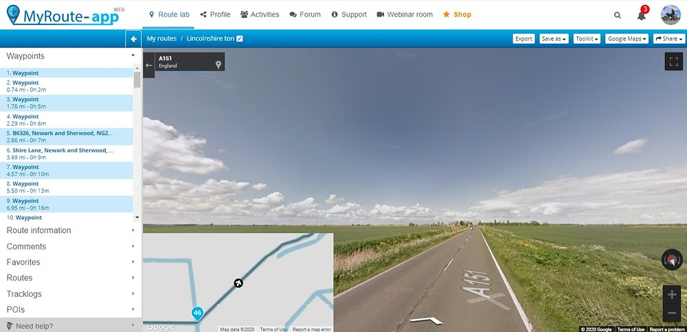 Great motorcycling roads in Lincolnshire
