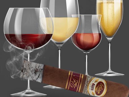 Κρασί και πούρα