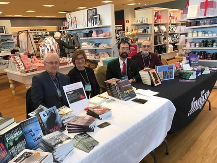 Book signing, Chapters Pointe-Claire, Quebec