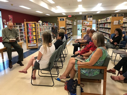 Library talk, Chelsea, Quebec