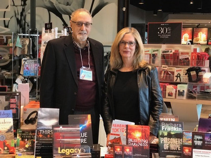 Author signing, Chapters Barrhaven, Ottawa