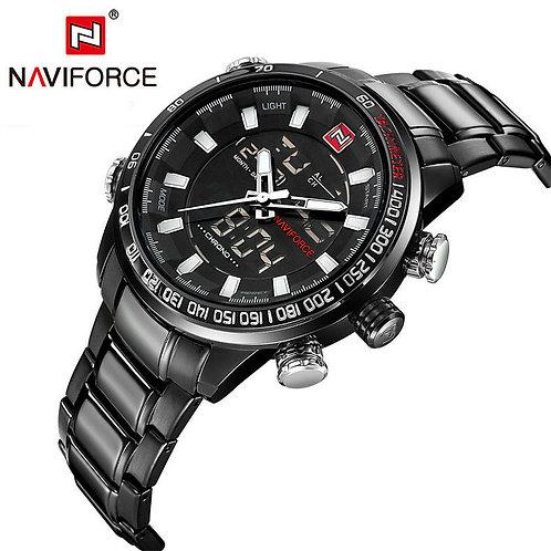 Men's Naviforce Sports Watch - Black