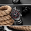 Thumbnail: Men's Naviforce Sports Watch - Black and Red