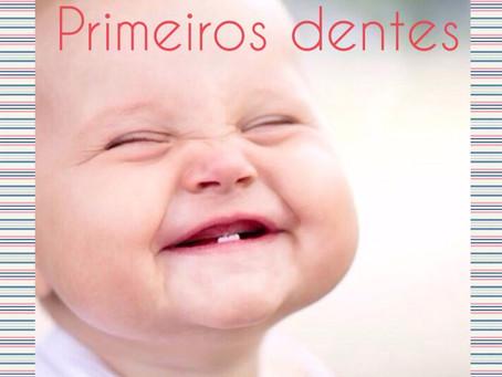 Primeiros dentes: higiene oral do bebé