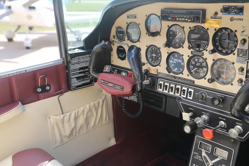 Grumman Tiger Custom Interior
