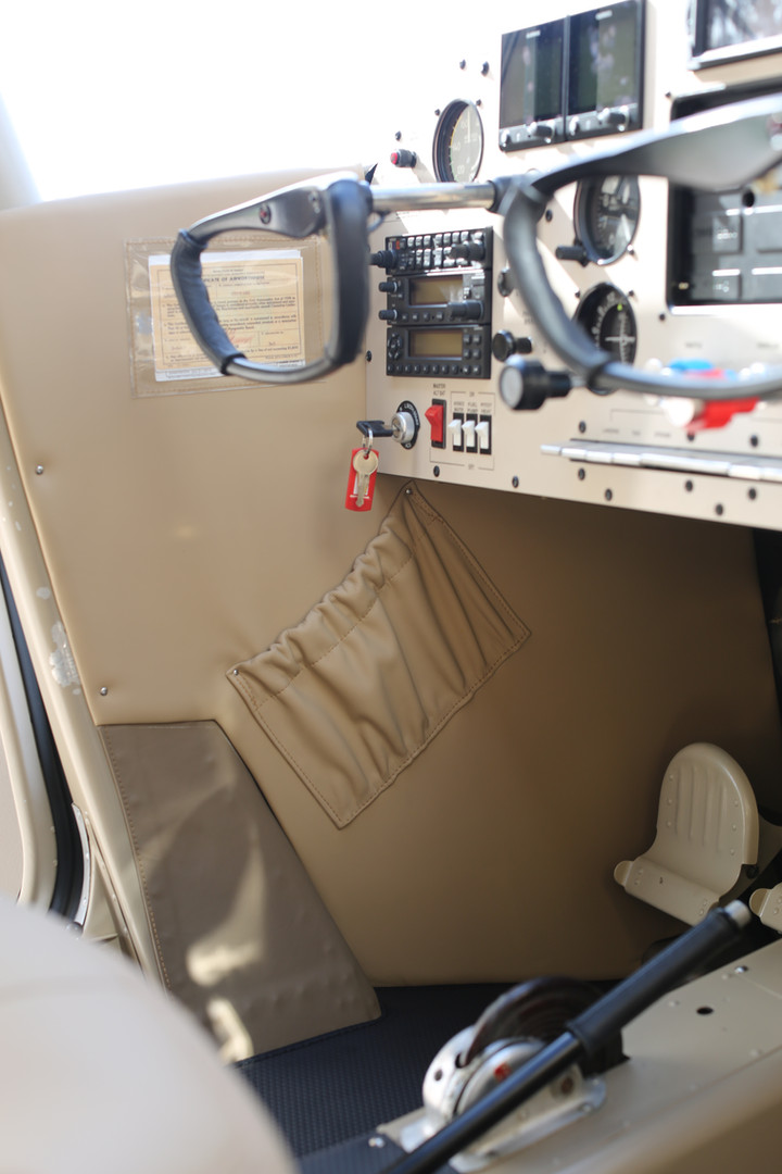 Cessna 170 Custom Interior