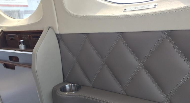 Cessna 421 interior