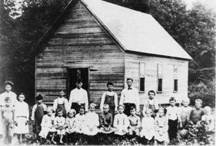 One-Room Schoolhouse, date unknown