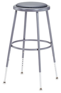 Image from Dick Blick, National Public Seating Corp Adjustable Padded Stool