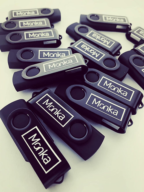 Monka USB with 24 hours of live streams